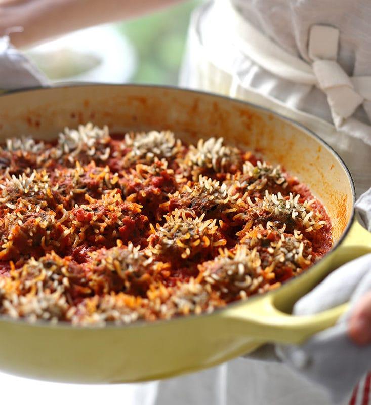 קציצות קיפודים ברוטב עגבניות