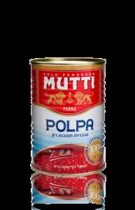 עגבניות חתוכות דק Mutti polpa