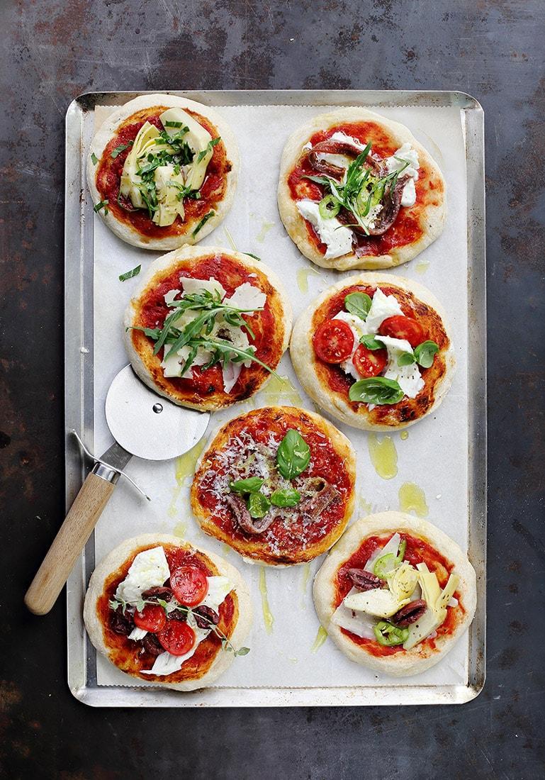 פיצה אדומה Mutti